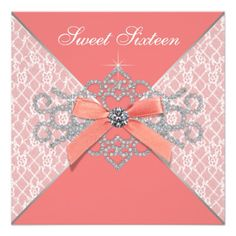 >>>Low Price Guarantee Coral Diamonds Coral Sweet 16 Birthday Party Custom Invitation Coral Diamonds Coral Sweet 16 Birthday Party Custom Invitation Yes I can say you are on right site we just collected best shopping store that haveReview Coral Diamonds Coral Swe...Cleck Hot Deals >>> http://www.zazzle.com/coral_diamonds_coral_sweet_16_birthday_party_invitation-161476339142828125?rf=238627982471231924&zbar=1&tc=terrest