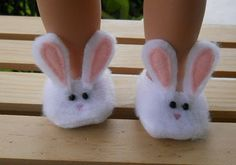 Stocking stuffer ideas #11 Doll Sized Slippers