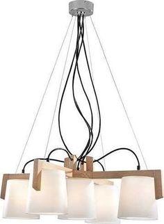 Φωτιστικό Οροφής 5φωτο Viokef Mondo 3081300 - €280,76 - Ηλεκτροφωτιστική