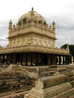 Mausoleum of Tipu Sultan - Karnataka, India