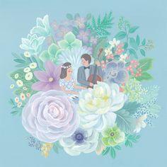 사는 게 꽃 같네. Life is Like a Flower. / kyenam