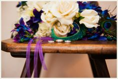 Peacock themed wedding in Texas | The Budget Savvy Bride