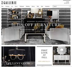 Z Gallerie The Most Affordable Furniture And Home Decor Websites Ever Furniture Shopping