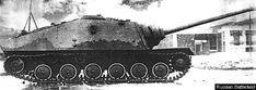 Soviet GAZ-75 tank destroyer prototype.