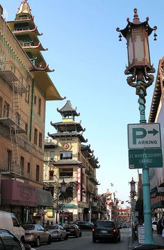 China Town in San Francisco... nothing like it.