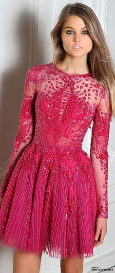 #Paris Fashion Week Zuhair Murad Fall/Winter 2014 RTW