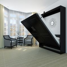 Folding wall bed ikea beds bed design ideas easily and safely beds design ideas home interior . Murphy Bed Kits, Murphy Bed Plans, Murphy-bett Ikea, Ikea Beds, Ikea Hack, Hideaway Bed, Modern Murphy Beds, Folding Beds, Bed Wall