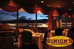 This gourmet restaurant is a step back in time with its vintage Vegas décor, romantic atmosphere and first class service. Top of Binion's Steakhouse is a must see near The Smith Center.