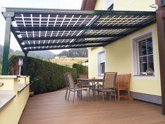Solar Heisse - Überdachung Metallbauweise