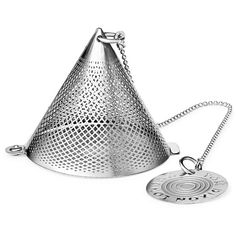 Tom Dixon Eclectic Collection Stainless Tea Strainer (200.355 IDR) ❤ liked on Polyvore featuring home, kitchen & dining, kitchen gadgets & tools, tea assortment, tea sampler, green box, tea strainer and tom dixon