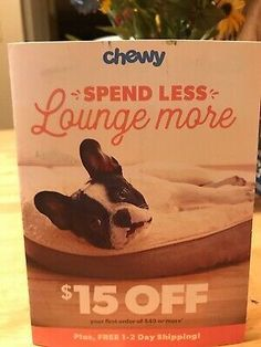 CHEWY Coupon$15 OFF FIRST Order of $49 Exp. 9/30/20... First Order, Coupon Codes, 30th, Coupons, Coupon