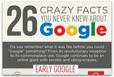 Infographic: Little-known facts about Google via @RaganComm Ha! Fun facts I wasn't aware of! #socialmedia