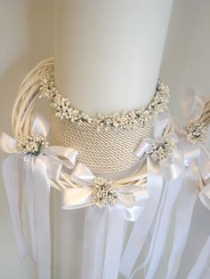 Λαμπάδες : Λαμπάδες γάμου Altar, Greek Wedding, Wedding Flowers, Wedding Crowns, Christening, Wedding Planning, Wedding Decorations, Wedding Inspiration, Jewelry