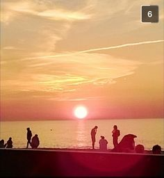 Took this photo sitting on a beach in Poland ✌️