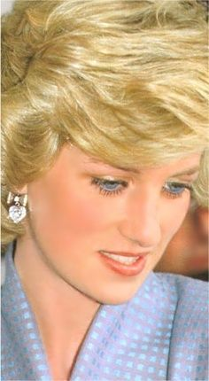 Princess Diana...April 22, 1985: Princess Diana watches a display of Tornado jet fighters at an air base outside Milan, Italy during the Royal Tour of Italy.