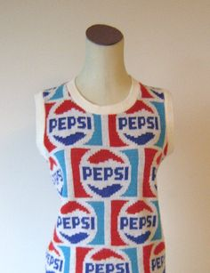 Vintage Pepsi Cola Sweater