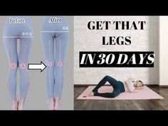 Longer & More Straight Legs in 30 Days Gym Workout Tips, Hip Workout, Workout Videos, Workout For Wider Hips, Body Sculpting Workouts, Bow Legged Correction, Knock Knees, Calf Exercises, Hiit Workouts For Beginners