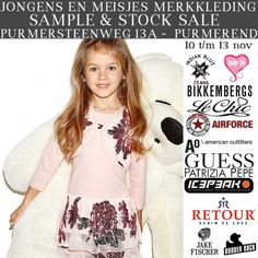 Merkkinderkleding Winter 2016 Sample & Stock Sale Purmerend -- Purmerend -- 10/11-13/11
