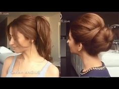 Hair do easy, simply and briefness for girl with Sarah Angius - YouTube