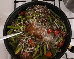 Sperziebonen met gehakt & satésaus – Lekker&Gezond eten – kha