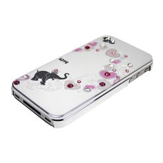 Silver Love Elephant for iPhone4/4S