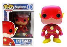 Funko Pop Heroes: DC Universe - New 52 The Flash Exclusive Vinyl Figure