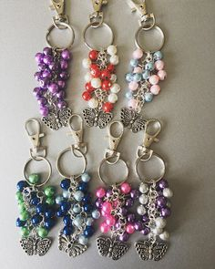 Hey, I found this really awesome Etsy listing at https://www.etsy.com/uk/listing/509094534/beaded-charms-handbag-charms-coloured