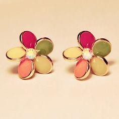 Flower Shape Earrings For Women