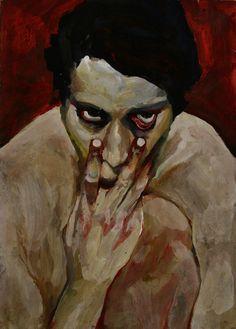 Self-portrait/ Milan Nenezic/ Serbia/ ◦Painting ◦Acrylic