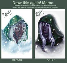 DRAW THIS AGAIN MEME by SaraForlenza.deviantart.com
