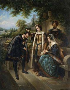 Королева Изабелла и Колумб
