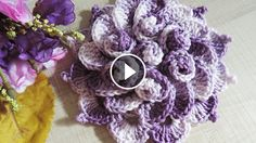Hello everyone.  I want to share with you this video tutorial of how to crochet a spring flower. This video is made by Soraia Bogossian and explain you in minimal detail how to make this artwork. Complexity: Beginner Hope you like…