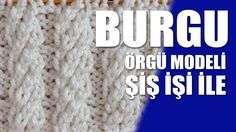 SET Örgü Modeli : Knitting Stitch Patterns Tutorials - Knitting Stitch How to Beginner Knitting Patterns, Knitting Stiches, Cable Knitting, Knitting Videos, Crochet Videos, Knitting For Beginners, Knit Patterns, Stitch Patterns, Freeform Crochet