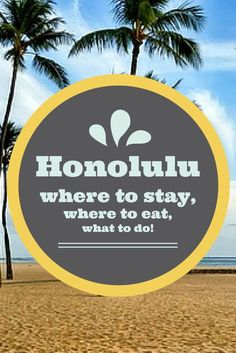 this is a little guide to Honolulu; just a peak at some of my favorite parts of Honolulu. I want to also add that its ideal to get out of Waikiki and drive to North Shore for example to watch surfers and eat at the famous shrimp trucks, but as Ben and