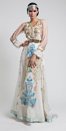 Moroccan designer Meriem Belkhayat will present her latest collection at Couture Fashion Week in New York City.
