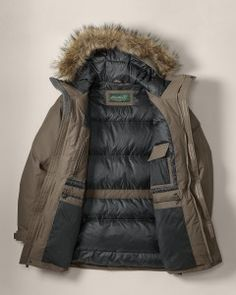 Read the Review Eddie Bauer Mens WeatherEdge Superior Down Parka jacket . Best parka jacket helps you to protect from snow -15F , rain and wind. Comes with lots of pockets and faux to make your life easier.  http://www.onestuff.com/review-eddie-bauer-mens-weatheredge-superior-down-parka-jacket/