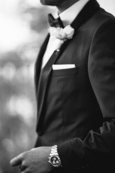 Wedding Day Inspiration || Groom || Photo by Elm&Co || LoveElm.com  #wedding #photography