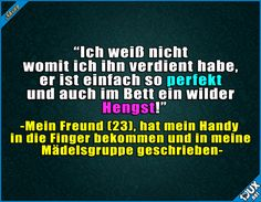 Die Chance genutzt (Cool Pics For Whatsapp) Cute Funny Quotes, Funny Phrases, Funny Pins, Funny Cute, Funny Jokes, Hilarious, Funny Stories, Man Humor, Laugh Out Loud