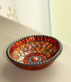 Mosaic Jewelry Keys Dish / Bowl in Delicious by MOSAICSnMORE