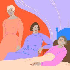 Three Tall Women - Sara Andreasson