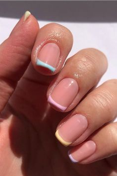 Cute Spring Nails, Summer Toe Nails, Summer Pedicure Colors, Best Summer Nail Color, Chic Nails, Stylish Nails, Pastel Nails, Cute Acrylic Nails, Pedicure Nails