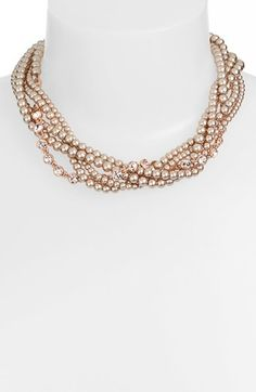 More pearl trend: Givenchy faux pearl necklace. Love the color and really great price.