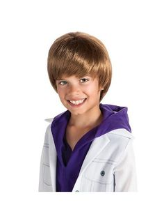 Rubies Costume Co Men's Justin Bieber Wig Blonde One Size -- Click image to review more details.