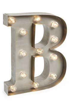 Besttime Letter Lights | Nordstrom $34
