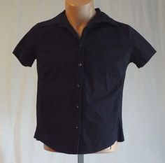 Women's Gap Stretch Small Dressy Short Sleeve Shirt  #GAP