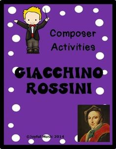 facts about Rossini, Materials: Singing Lessons, Singing Tips, Music Lessons, Music Theory Games, Music Games, Music Education Activities, Physical Education, Song Sheet, Teacher Helper