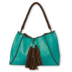 Turquoise Totes: Abbey bag by designer Anthony Luciano for Back at the Ranch