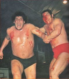 Andre The Giant vs. Antonio Inoki