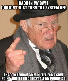 Caught myself saying this when I saw my nephew turn off his PlayStation in the middle of a game when it was time for him to stop #meme #caught #saying #nephew #playstation #middle #game #time #stop #funny #humor #comedy #lol