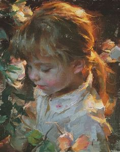 Robert Coombs The artist's daughter at age 3